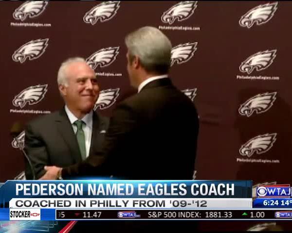 Pederson introduced as Eagles Coach_20160120042608