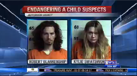 punxsy child endangerment filthy apartment arrests 0