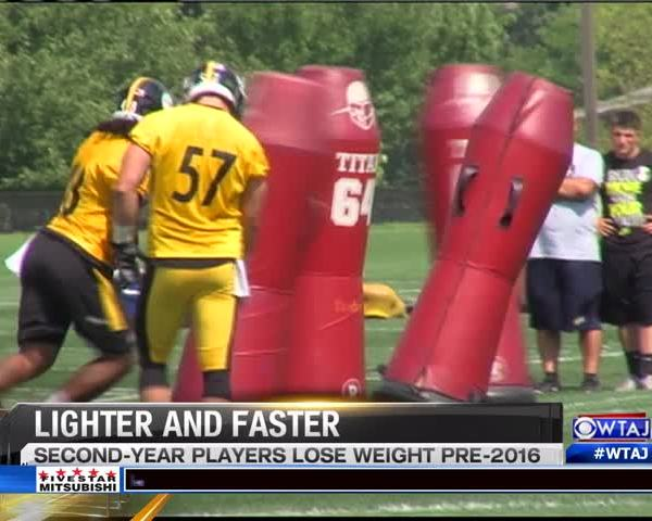 Steelers- 2nd-year players return lighter_20160808225502
