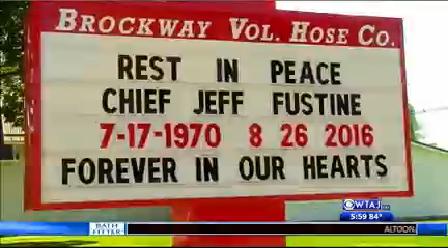brockway fire chief dies 1