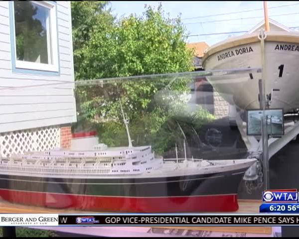 Historic lifeboat on display