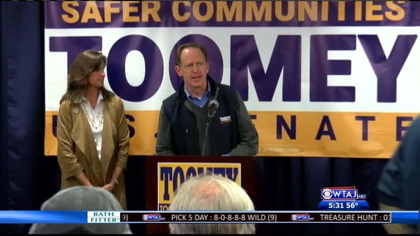 Toomey in Johnstown