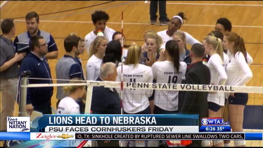 PSU Volleyball Preps for Nebraska_71826386