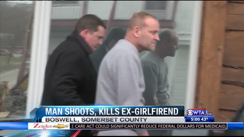 Man shoots and kills ex-girlfriend