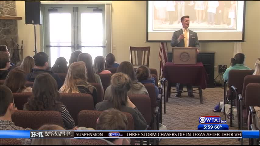 Youth conference talks opioid epidemic