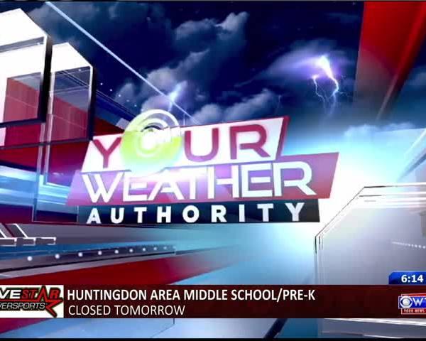 Monday Evening Forecast 3-13-2017