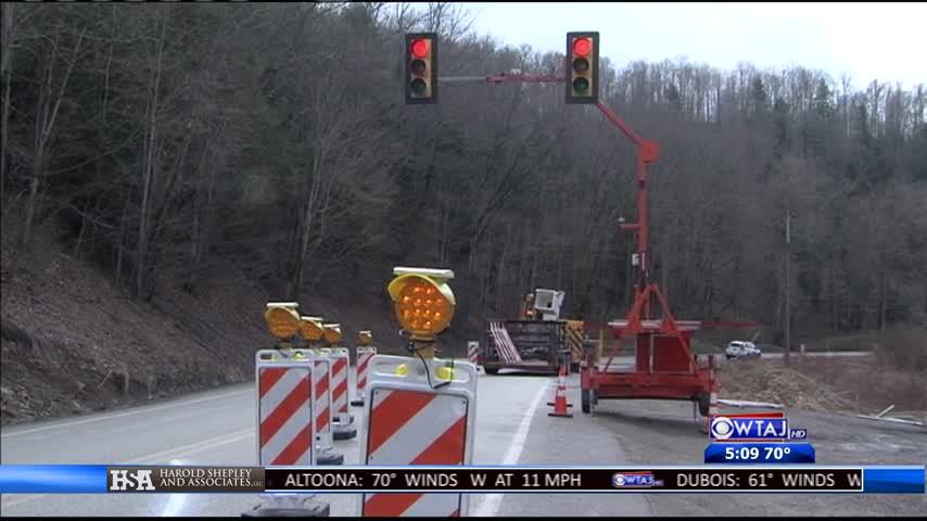 TRAFFIC ALERT: Lane restriction in Somerset County