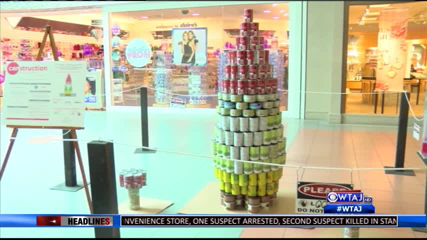 Canstruction: Art with a cause