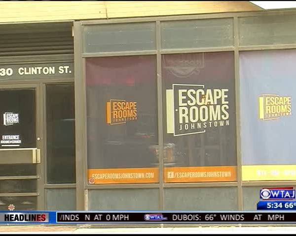 Johnstown City Council escape room challenge