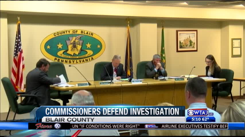 Blair Commissioners Speak Out