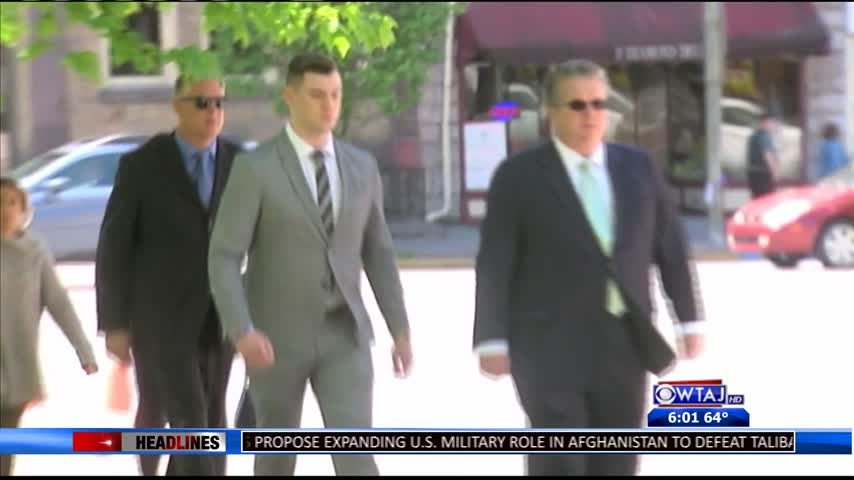 Additional fraternity brothers arraigned.