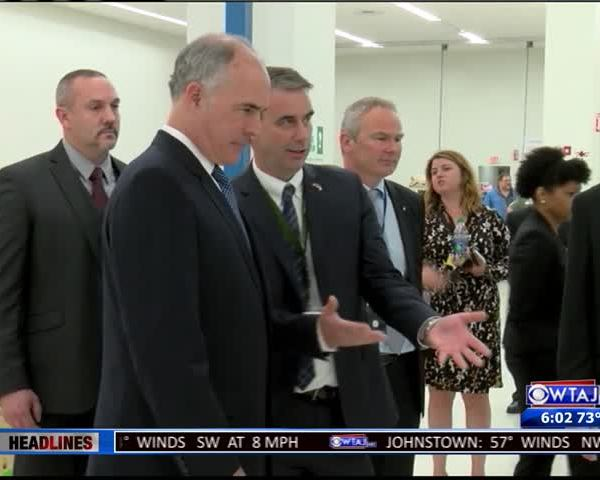 Sen. Casey visits Johnstown