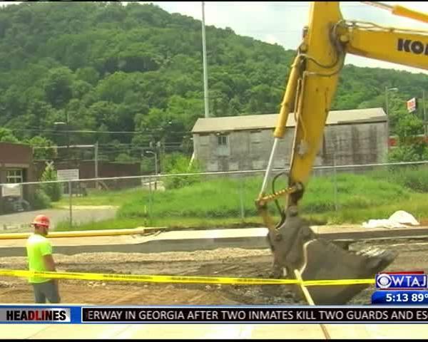 Water main break in Johnstown
