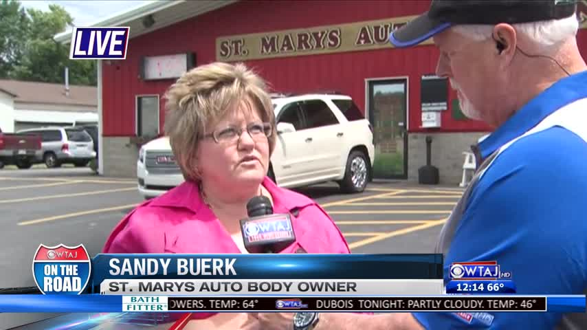 On The Road: Auto Body Shop Gives Back