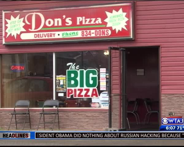 On The Road with Don's Pizza