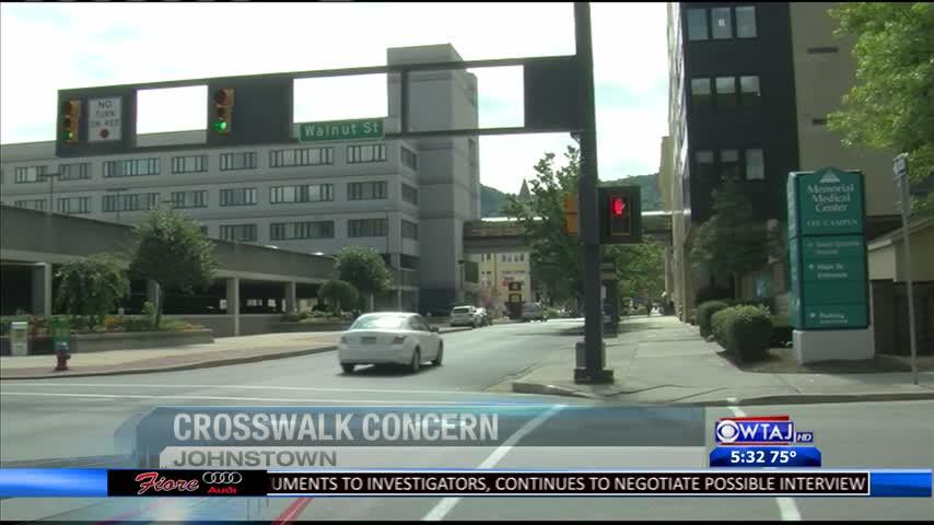 Crosswalk concerns for blind people