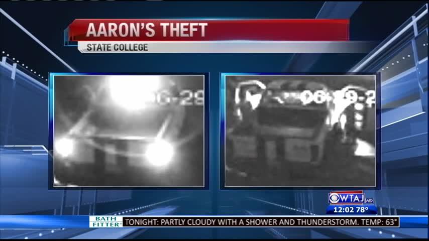 aarons theft