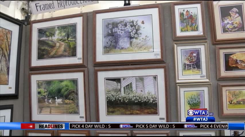 Hallmark artist hopes to leave behind art work and s_14543622