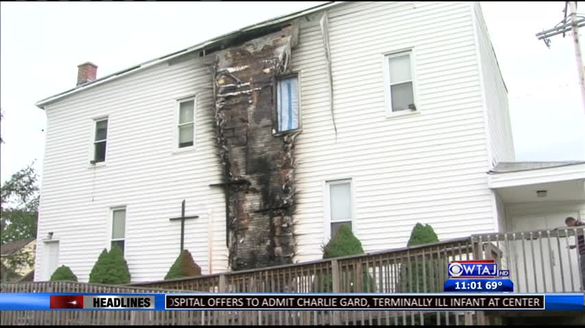 Pastor reflects on church fire