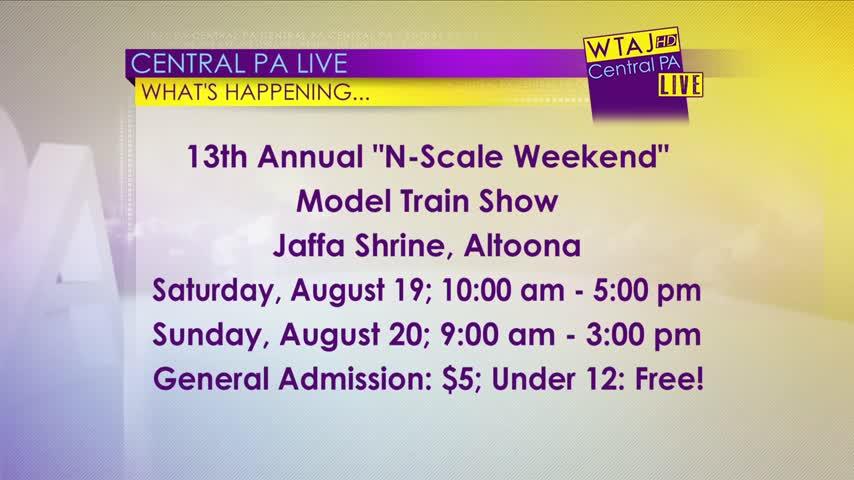 "13th Annual ""N-Scale Weekend"""
