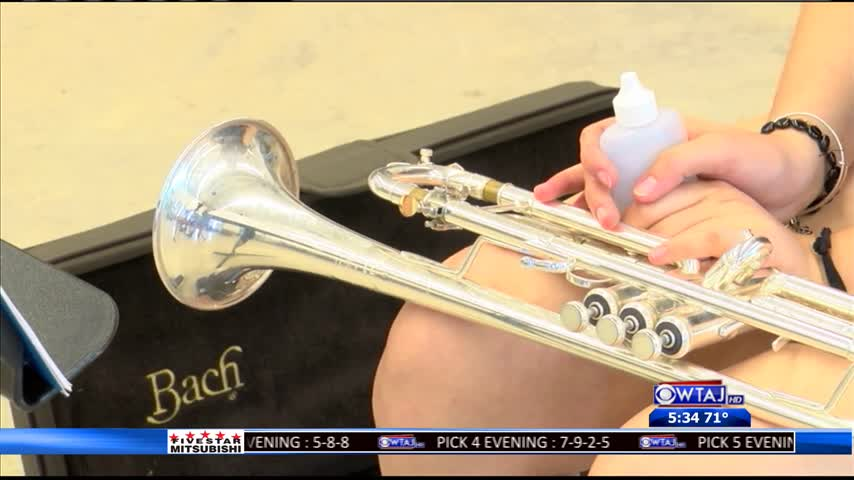 Hundreds of students audition for PSU Blue Band
