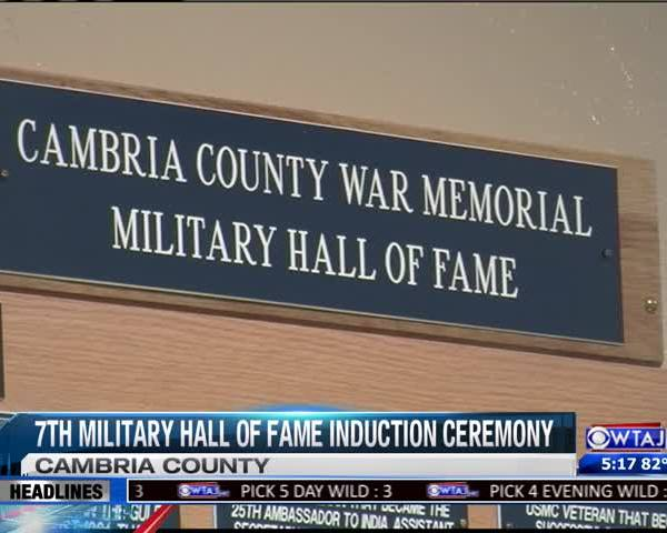 7th Induction Ceremony for Cambria Co. Military Hall of Fame