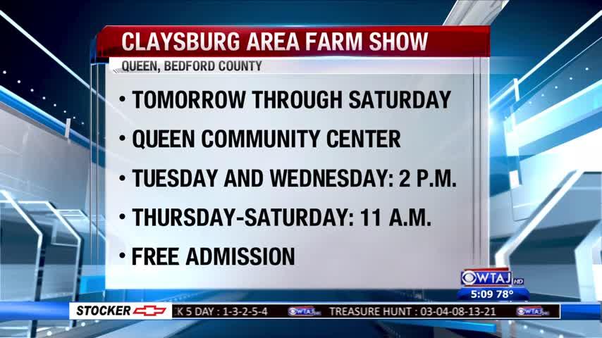 Claysburg Area Farm Show