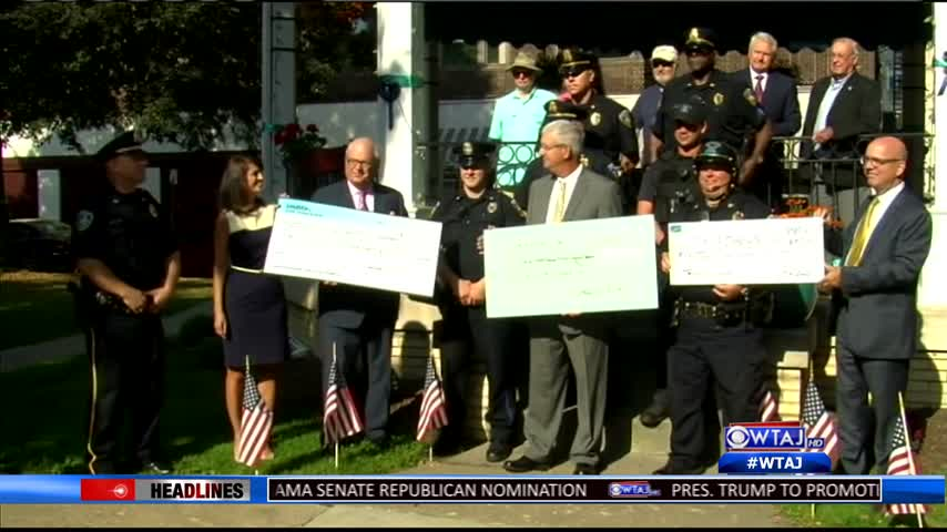 Johnstown police receive big donation
