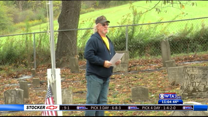 Tyrone cemetery gets restored
