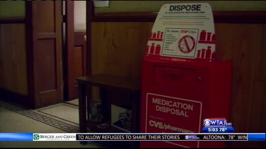 Johnstown drug drop box