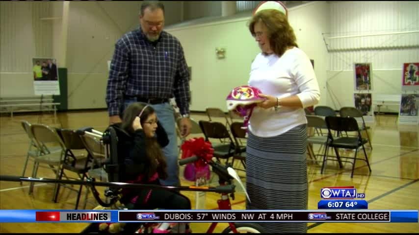 Equipment helps children with disabilities