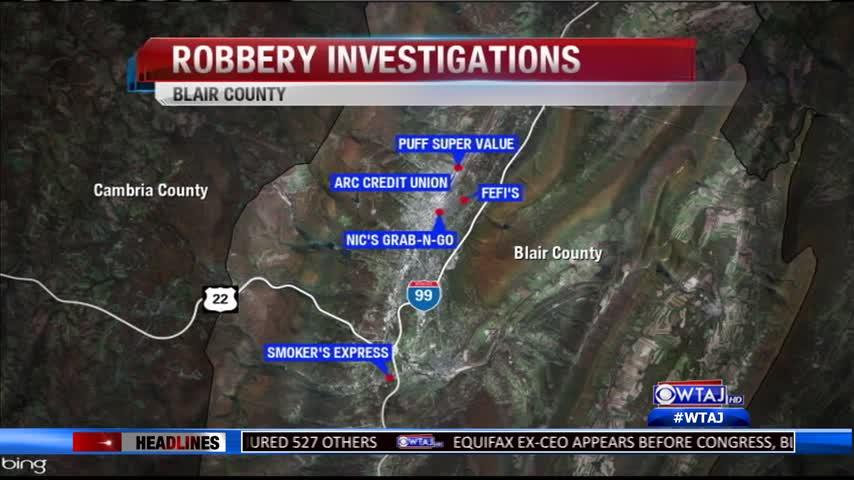 Robbery investigation latest