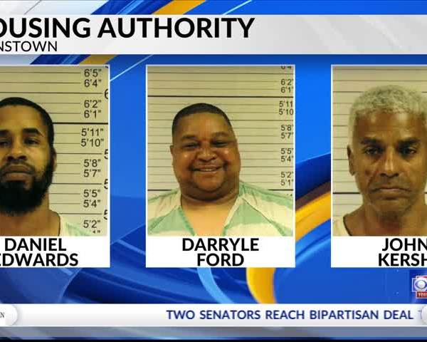 JHA evicts three men facing drug charges.