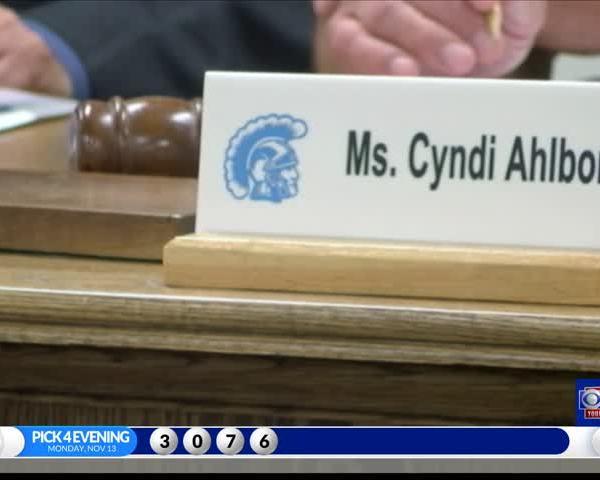Objection hearing for Johnstown School Board President