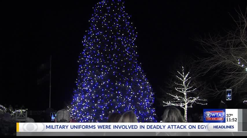 Annual grand illumination at Omni Bedford Springs_51958230