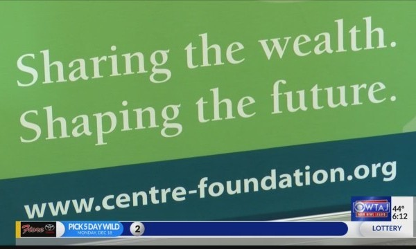 Centre Foundation to distribute $54,000 to local organizations