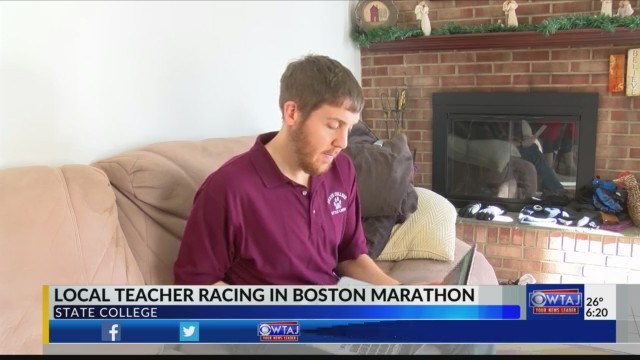 State College teacher trains for Boston Marathon