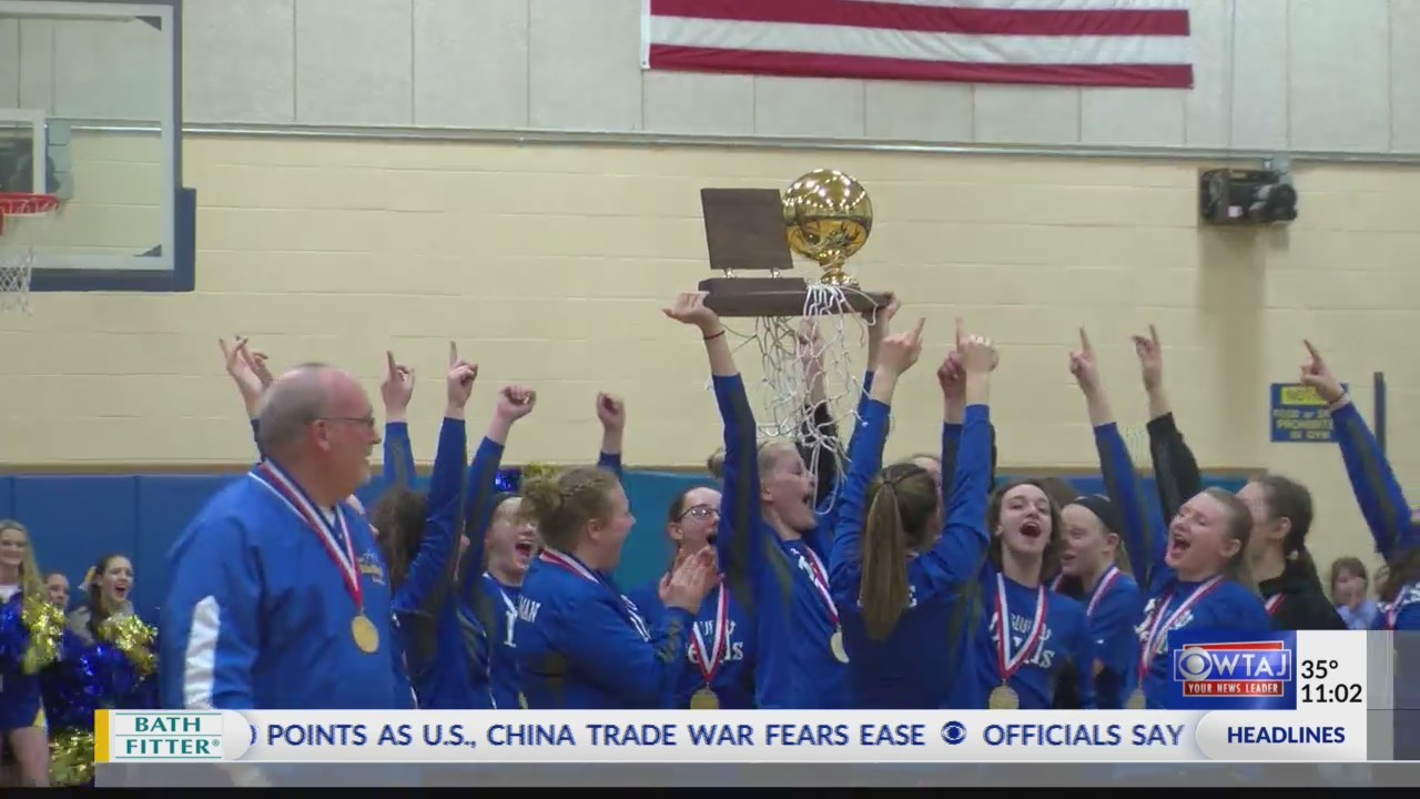 Bellwood-Antis girls basketball team wins state title