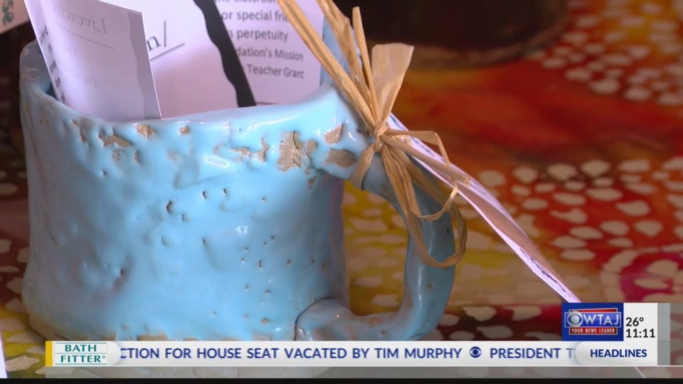 Clay cups for a cause