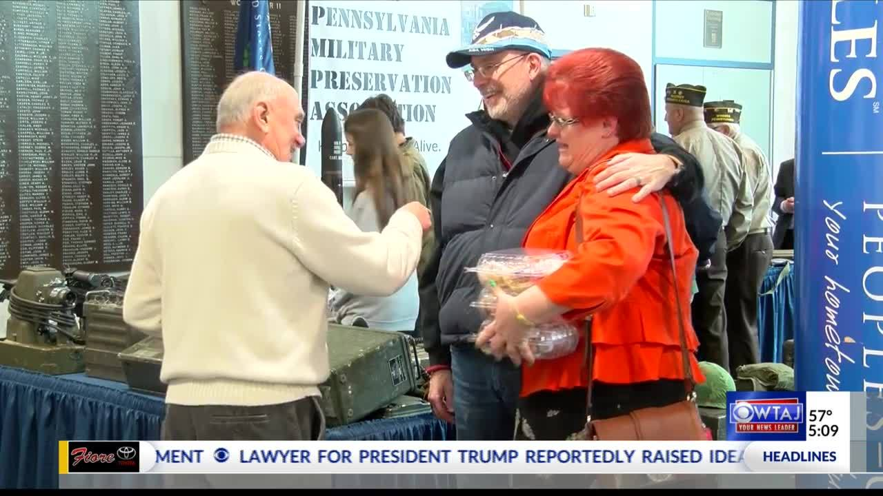 Local woman honors father during Vietnam War Veterans Day celebration