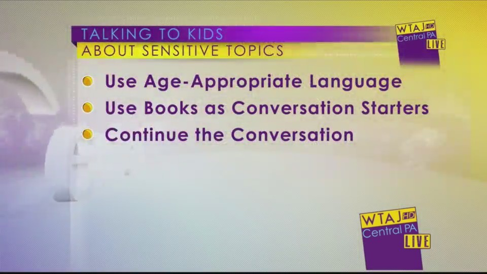 Talking to Kids About Sensitive Topics
