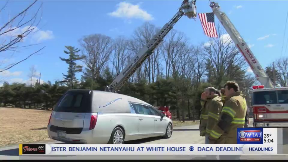 Young Firefighter Laid to Rest