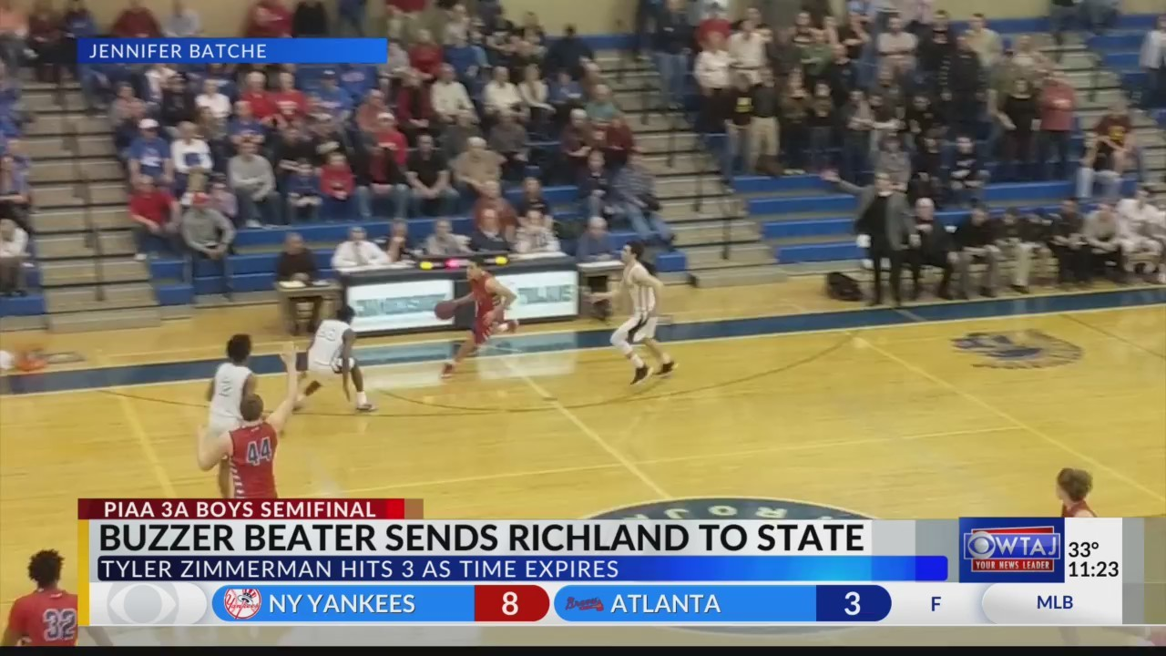 Zimmerman sends Richland to the State Championship