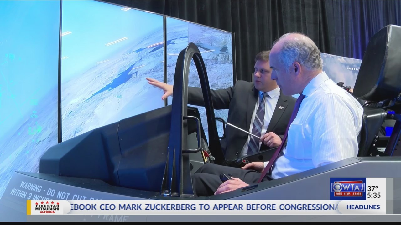 Lockheed Martin fighter jet flight simulation