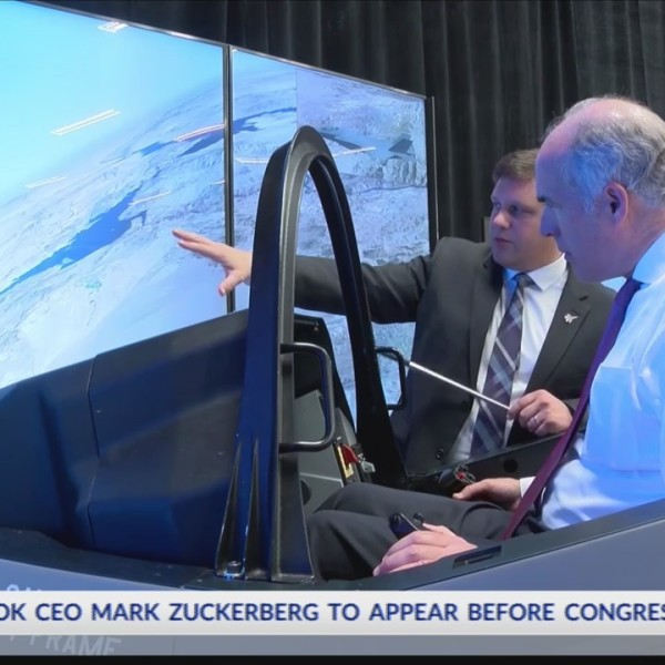 Lockheed Martin fighter jet flight simulation
