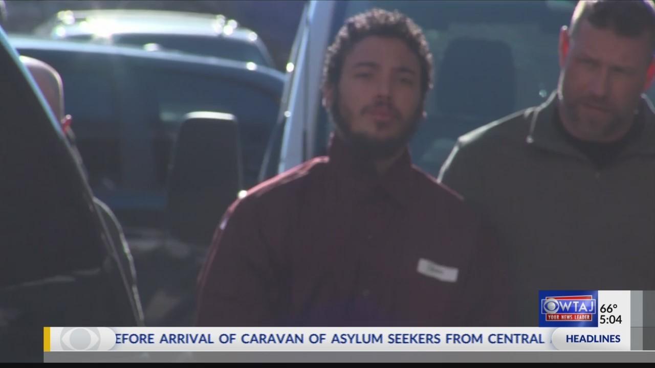 Paul Kendrick appears in court