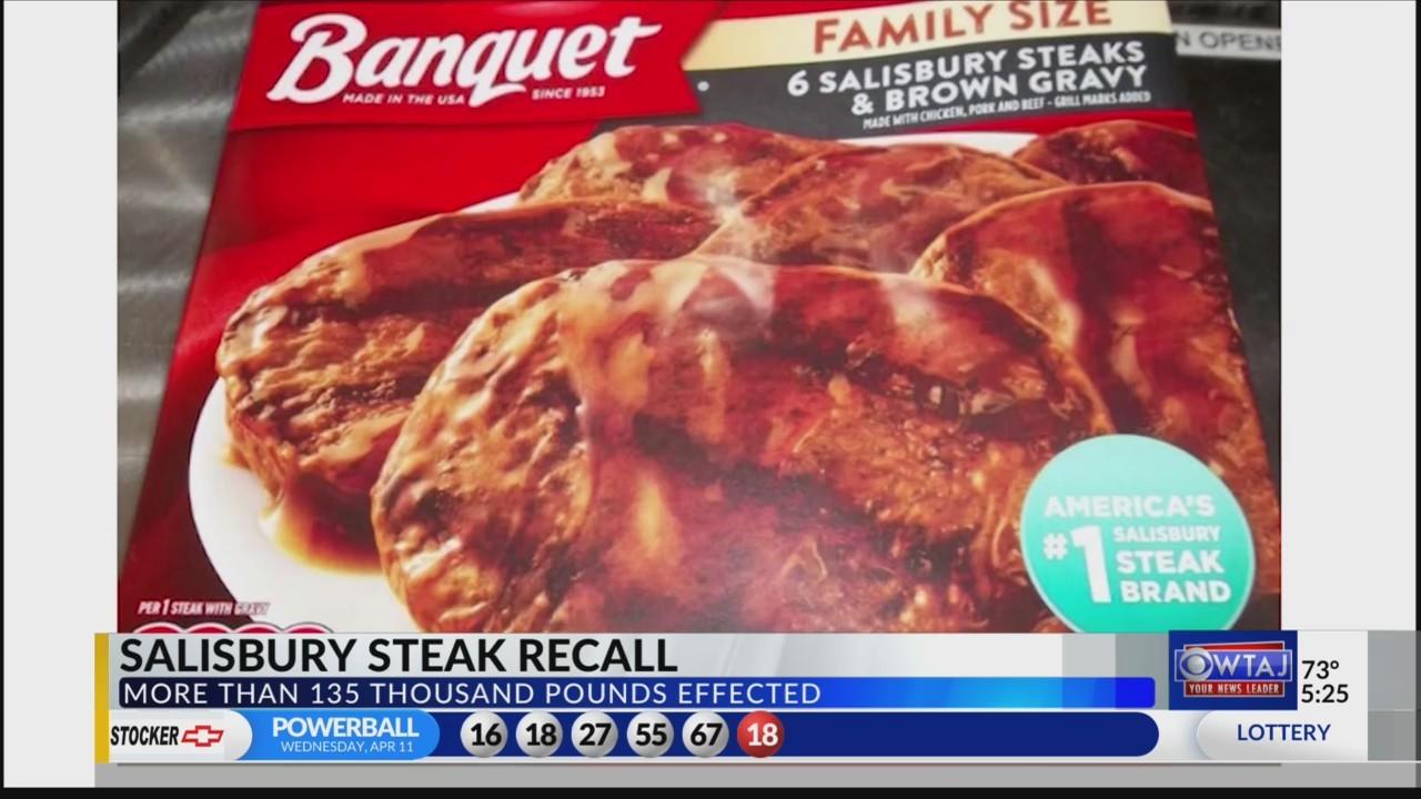 Salisbury Steak recall
