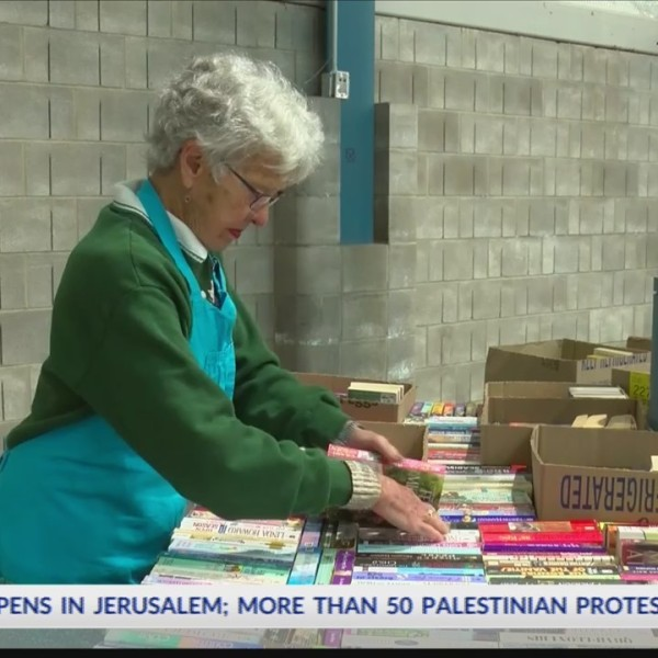 Annual book sale promotes reading, supports scholarships for women