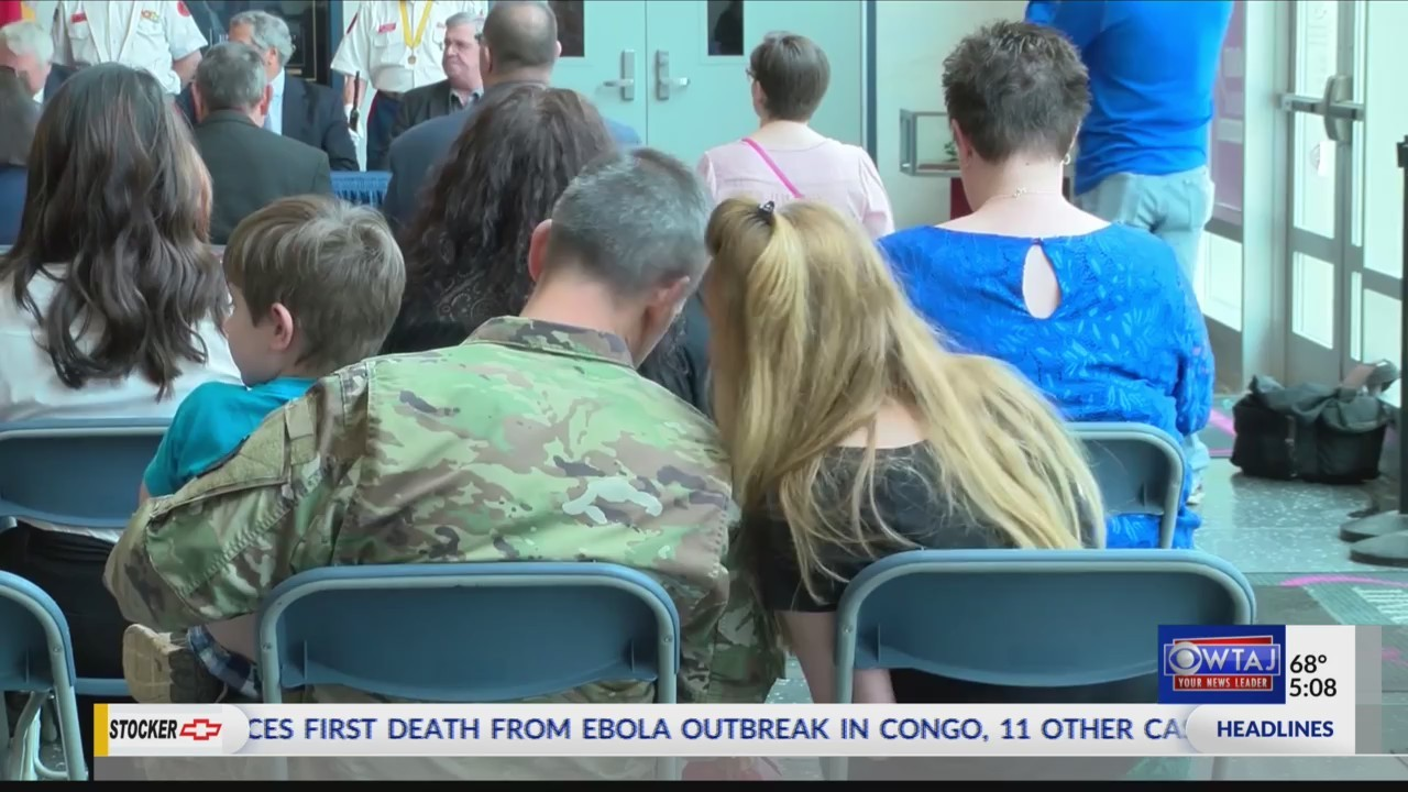 Ceremony honors local military spouses
