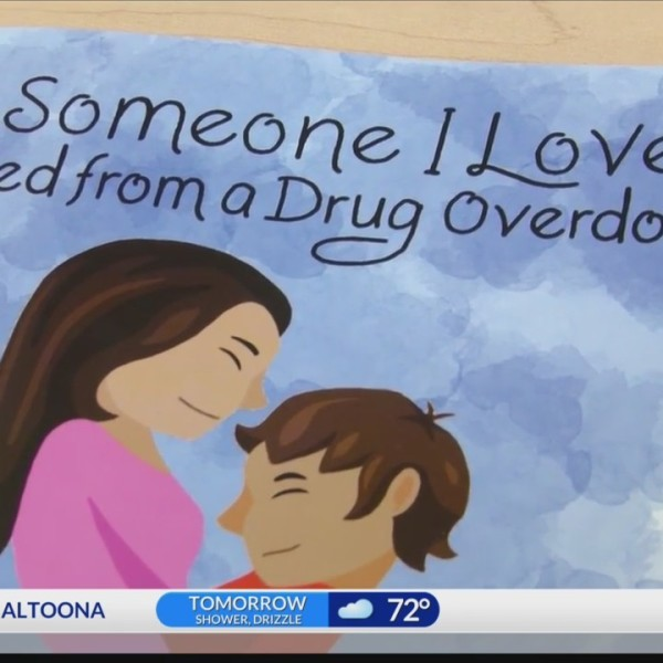 Local grief counselor writes children's book about drug overdoses